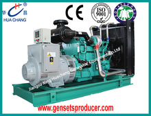 Qualified water-cooling 625KVA(500KW) open type electric power generator