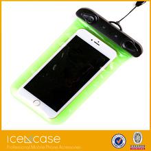 Mobile cell phone pvc waterproof bag,waterproof bag for iphone