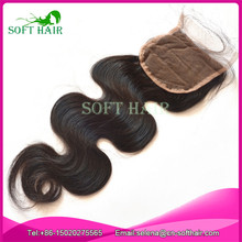 Wholesale qingdao soft hair factory cheap body wave 100% brazilian virgin human hair extensions hair lace closure