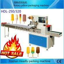 Foshan Headly automatic bread candy wrapping horizontal pillow machine price