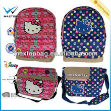 2014 Fashionable colorful hello kitty shoulder bags