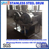 leather tanneries in China D600 by 300 stainles ssteel comparing lab drum/leather machine