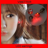 The factory wholesale,Europe and the United States Hot Selling, christmas light up earring,led earrings,salt mines united states