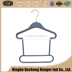 High End Custom Factory Wholesale Strong Thick Clothes Plastic Hanger For Fur Coat