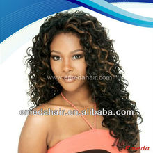brazilian human hair long afro kinky curly lace front wig
