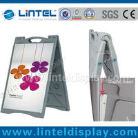 double sided waterproof outdoor poster board LT-10N1