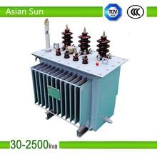 63KVA S11 oil power distribution transformer