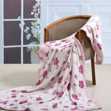 hot sell thick cotton baby blanket