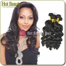 Las extensiones elegance del pelo brasileño que es muy durable y lindo
