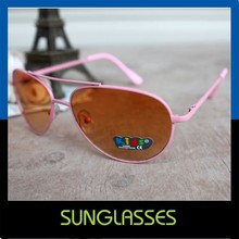 New metal Cheap red cool kids funny sunglasses