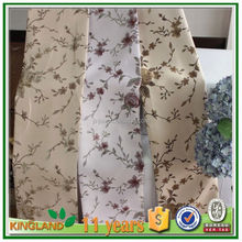 100% polyester new style curtains jacquard curtain designs
