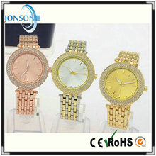 New hot!! Wholesale roses gold black silver brand women men brand mk watches with mk logo