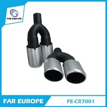 Universal Car Stainless Steel Double Exhaust Muffler