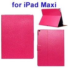 Top selling Magnetic Buckle leather case for ipad Maxi