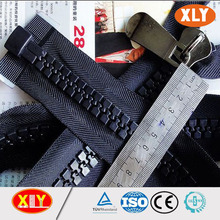 Oem disponibles open end plastique chunky zipper