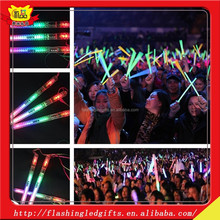 Party Favor Event and Party Item Type and Christmas Occasion lighting sticks baton wholesale light up glowing stick