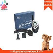 Pet-Tech P-613 dog electric collar shock and vibration, 1000m remote dog electric collar