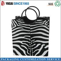 Hot sale 2015 Zebra paper shopping bag