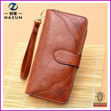 2015 Tops Women Genuine Leather Wallet with Cards slots