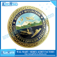 Factory Branded Custom Commemorative sailing Coins