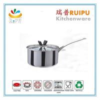 butterfly knob multi-ply saucepan/non stick saucepan/stainless steel saucepan