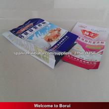 escudete lateral bolsas de leche en polvo con la impresión, paquete de comida de plástico
