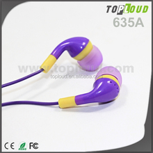 Factory directly offer earphone for iphone LED light earphone spy
