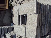 Chinese white granite g603 Sesame White mushroom stone for sale, own block