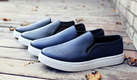 Sale Leather material casual sneaker white outsole
