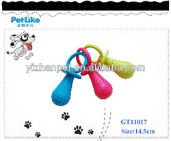 Wholesale rubber pet toy dog puppy toy on sale