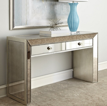 Wholesale glass dressing table with drawers