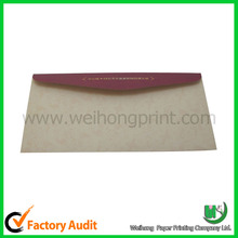 Documents enclosed packaging gift envelopes