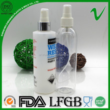 PET high quality round transparent empty plastic air freshener bottle for sale