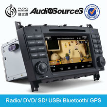 car dvd for Mercedes CLK C209/W209 Car Radio with bluetooth HD video lossless music FM AM RDS phonebook SD USB cables AUX