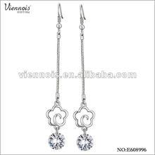 Fashion Ladies Rhinestone Pandant Earring Viennois Jewelry