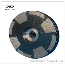 Hard disk stone grinding tool / granite and marble grinding disc