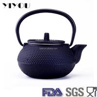 tea set, cast iron teapot set
