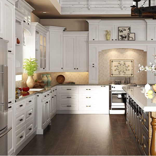Modular solid wood kitchen cabinets fitted kitchen design for Fitted kitchen designs