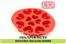 heart plastic chocolate moulds india Chocolate Muffin Cup Cake Candy Ice Tray Mold Mold Maker Party Bar
