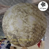 Beautiful replica 1.2m diameter inflatable hanging lighting Solar system Planet Mercury
