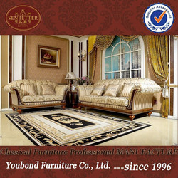 0031 High quality luxury classic living room sofa set furniture