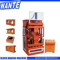 Block making machine price clay