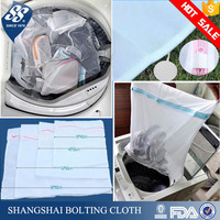 sturdy delicates mesh laundry wash bag with zipper for underwear, bra, hosiery, stockings