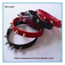 Nails dog collar dogs accessories collar in china