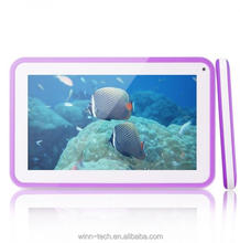 Allwinner A33 wall mount android tablet poe kids educational toys