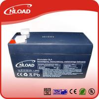 vrla agm rechargeable lead acid battery 6v 1.3ah for emergency light