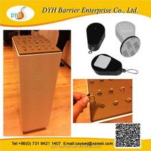 Retractable Anti-theft recoiler pull box for mobile phone/ camera/jewlery
