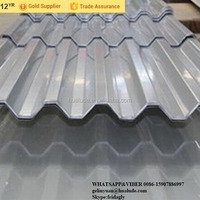 Fiber cement corrugated roofing sheet Non Asbestos Exported to South America