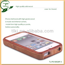3D sublimation wooden case for iPhone 5 blanks