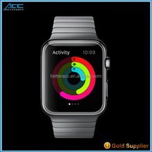 2015 Hot Selling Premium 0.33mm HD Ultra Clear 2.5D 9H Tempered Glass Screen Protector for Apple iWatch